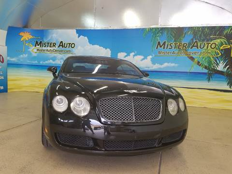 2004 Bentley Continental GT for sale at Mister Auto in Lakewood CO