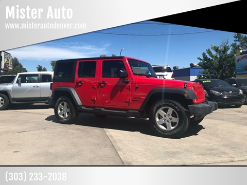 Mister Auto Car Dealer In Lakewood Co