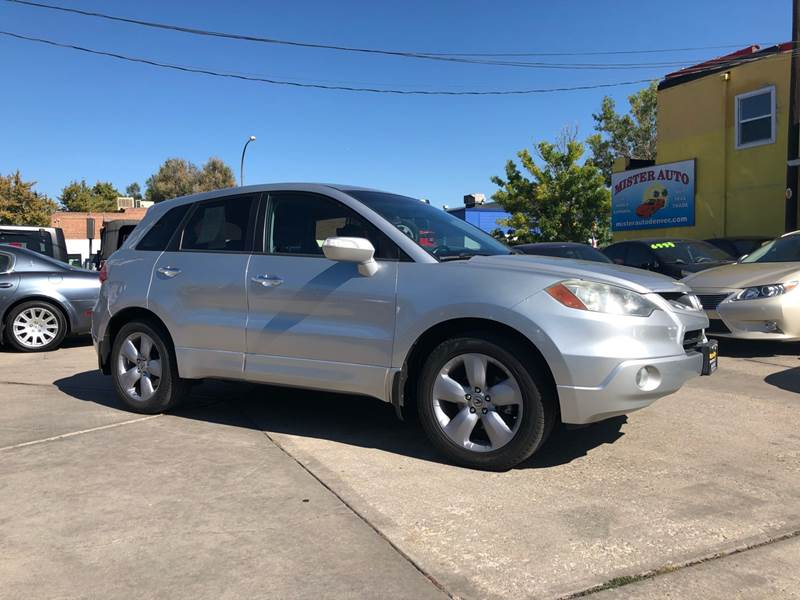 Acura RDX SHAWD WTech In LAKEWOOD CO Mister Auto - 2007 acura rdx for sale