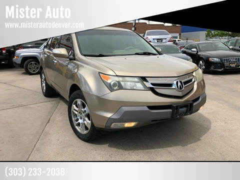Acura Mdx For Sale >> Acura Mdx For Sale In Lakewood Co Mister Auto