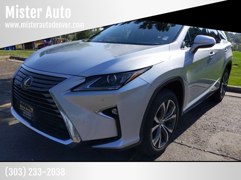 2018 Lexus RX 350L for sale in Lakewood, CO