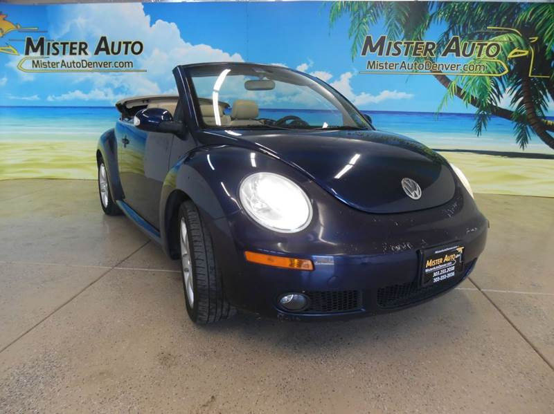 2006 Volkswagen New Beetle for sale at Mister Auto in Lakewood CO