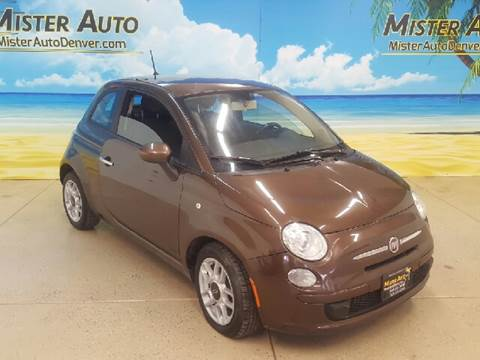 2013 FIAT 500 for sale at Mister Auto in Lakewood CO