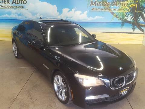 2010 BMW 7 Series for sale at Mister Auto in Lakewood CO