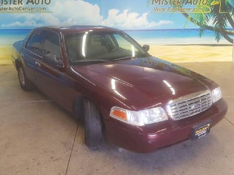 2006 Ford Crown Victoria for sale at Mister Auto in Lakewood CO
