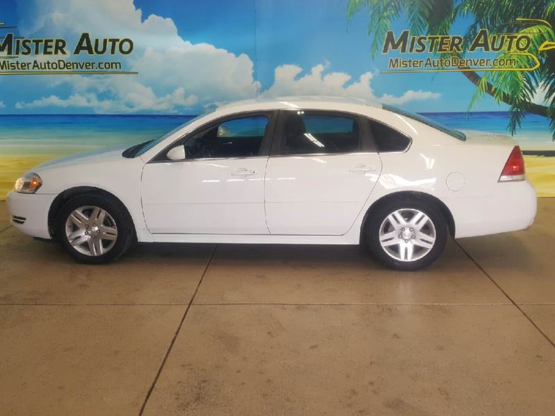 2012 Chevrolet Impala for sale at Mister Auto in Lakewood CO