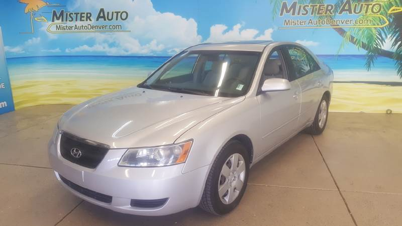 2008 Hyundai Sonata for sale at Mister Auto in Lakewood CO