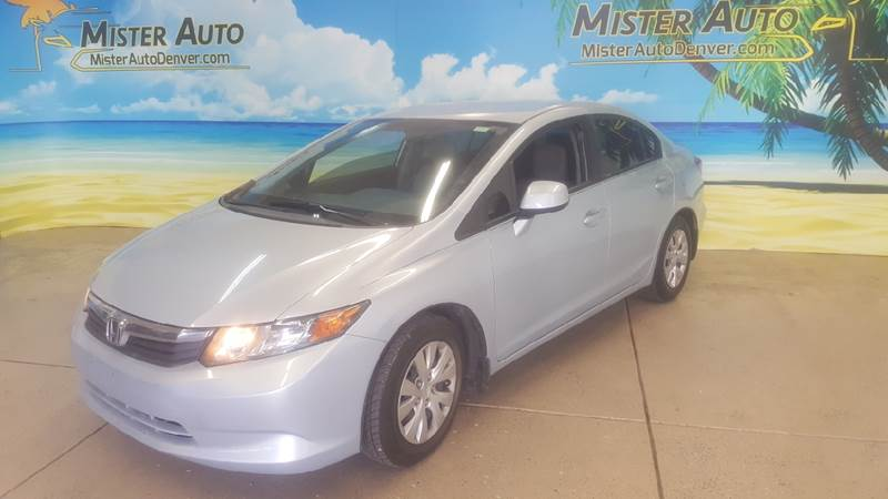 2012 Honda Civic for sale at Mister Auto in Lakewood CO