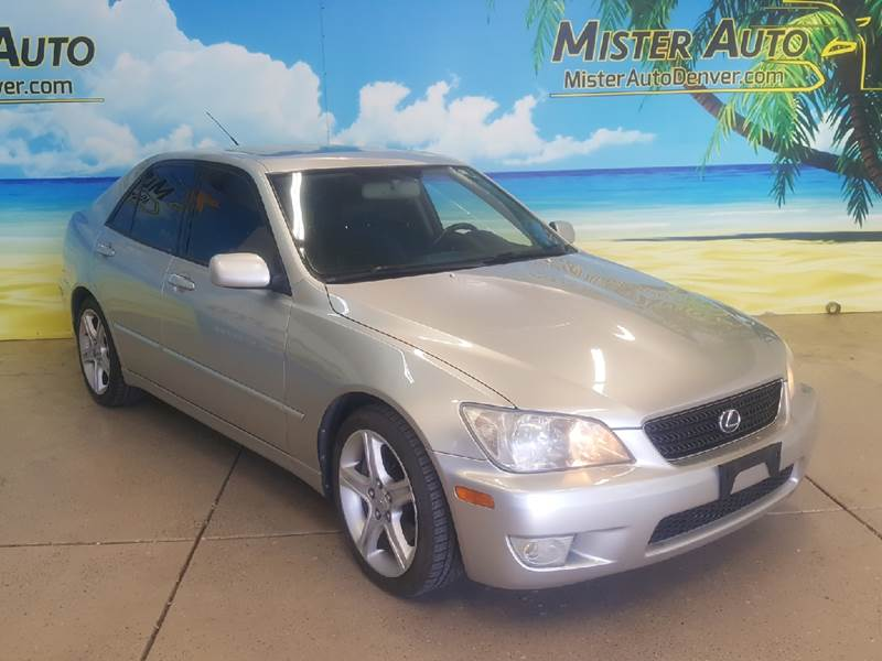 2003 Lexus IS 300 for sale at Mister Auto in Lakewood CO