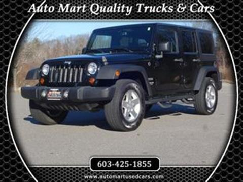 2013 Jeep Wrangler Unlimited for sale in Derry, NH