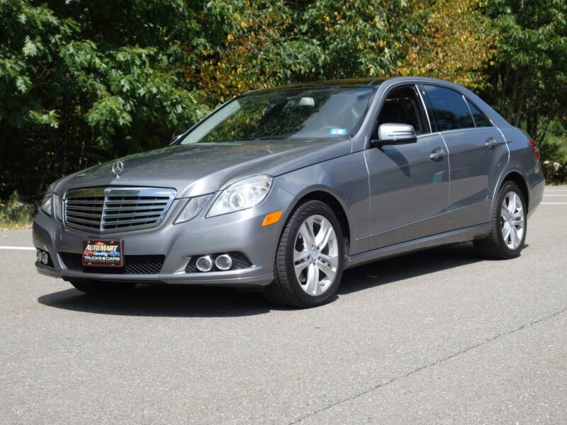 2010 Mercedes-Benz E-Class for sale at Auto Mart in Derry NH