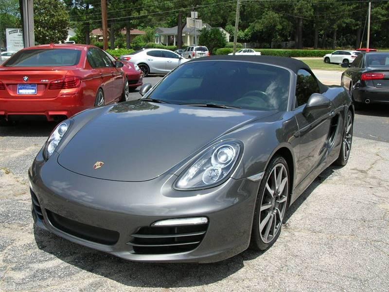2013 Porsche Boxster for sale at South Atlanta Motorsports in Mcdonough GA