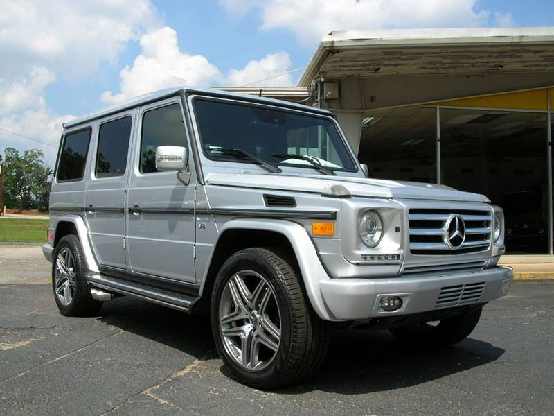 2008 Mercedes-Benz G-Class AWD G 500 4MATIC 4dr SUV In