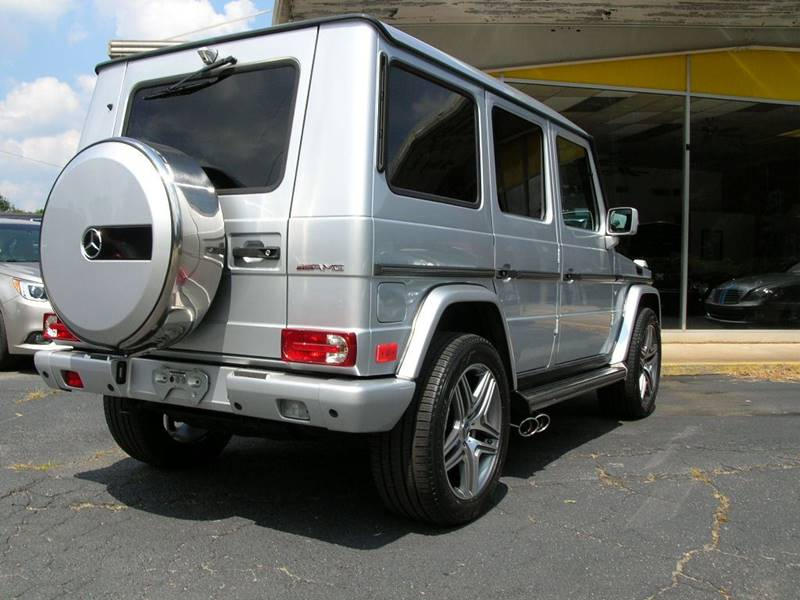 2008 Mercedes-Benz G-Class AWD G 500 4MATIC 4dr SUV - Mcdonough GA