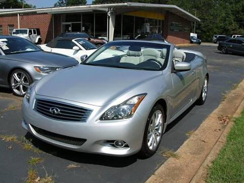 2011 Infiniti G37 Convertible for sale in Mcdonough, GA