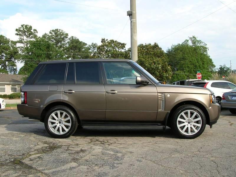 2012 Land Rover Range Rover for sale at South Atlanta Motorsports in Mcdonough GA
