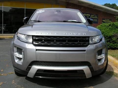 2012 Land Rover Range Rover Evoque for sale in Mcdonough, GA