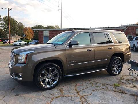 2015 GMC Yukon for sale at South Atlanta Motorsports in Mcdonough GA