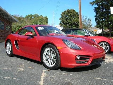 2014 Porsche Cayman for sale at South Atlanta Motorsports in Mcdonough GA