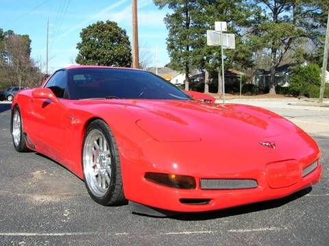 2001 Chevrolet Corvette for sale at South Atlanta Motorsports in Mcdonough GA
