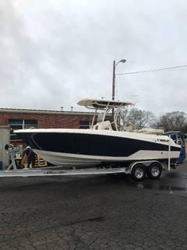 2017 Wellcraft 242 Fisherman