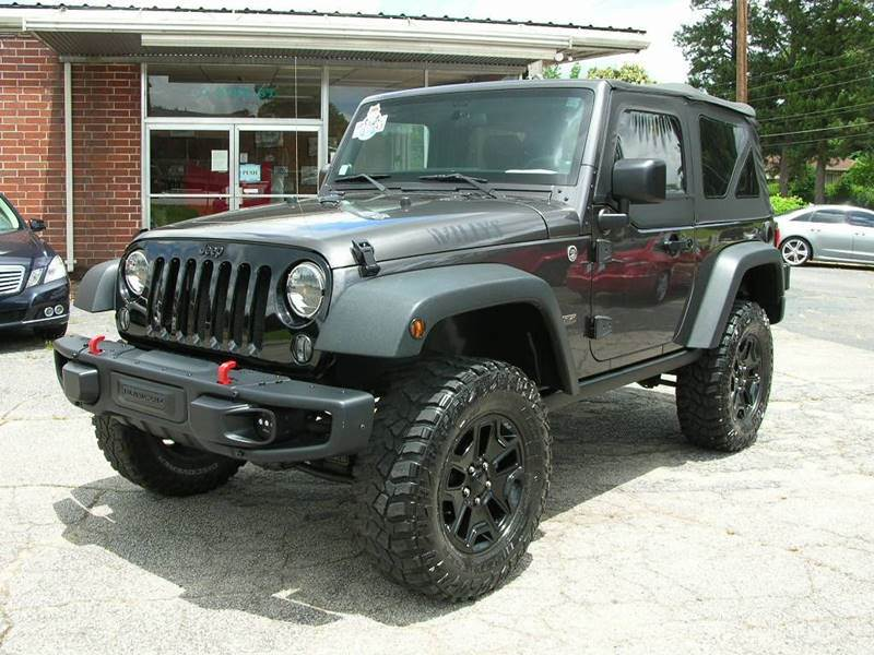2014 Jeep Wrangler for sale at South Atlanta Motorsports in Mcdonough GA