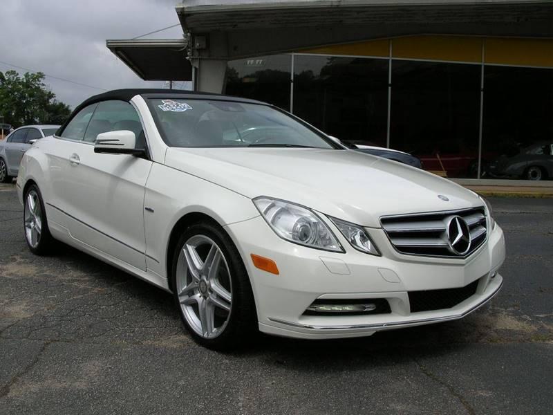 2012 Mercedes-Benz E-Class for sale at South Atlanta Motorsports in Mcdonough GA