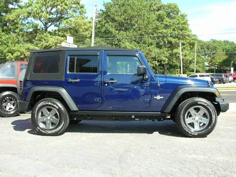 2013 Jeep Wrangler Unlimited for sale in Mcdonough, GA