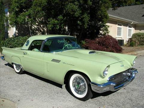 1957 Ford Thunderbird for sale at South Atlanta Motorsports in Mcdonough GA