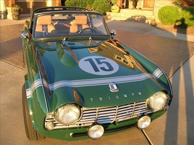 1965 Triumph TR4 for sale at South Atlanta Motorsports in Mcdonough GA
