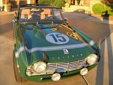 1965 Triumph TR4 for sale at South Atlanta Motorsports in Mcdonough GA