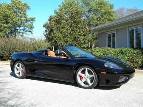 2001 Ferrari 360 Spider for sale at South Atlanta Motorsports in Mcdonough GA