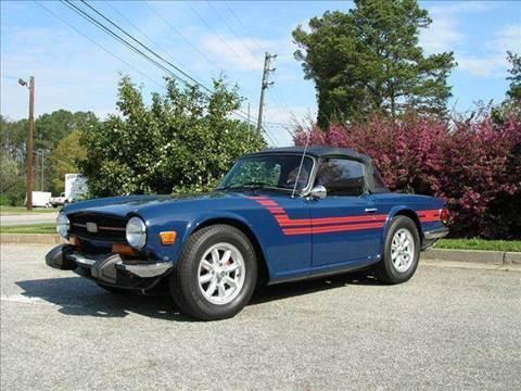 1974 Triumph TR6 for sale at South Atlanta Motorsports in Mcdonough GA