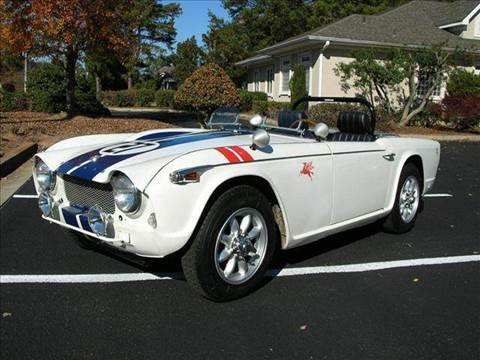 1967 Triumph TR4 for sale at South Atlanta Motorsports in Mcdonough GA