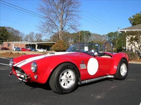 1964 Ford FIA Cobra for sale at South Atlanta Motorsports in Mcdonough GA