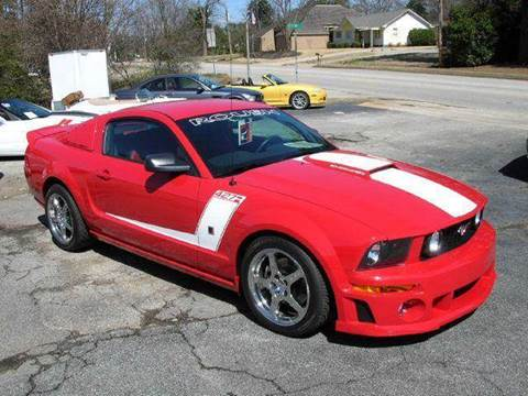 2007 Ford Mustang for sale at South Atlanta Motorsports in Mcdonough GA