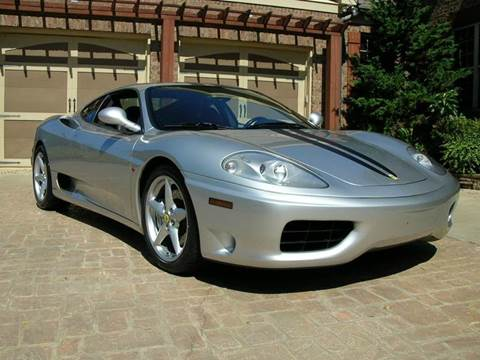 1999 Ferrari 360 Modena for sale at South Atlanta Motorsports in Mcdonough GA