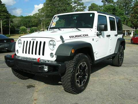 2015 Jeep Wrangler Unlimited for sale at South Atlanta Motorsports in Mcdonough GA