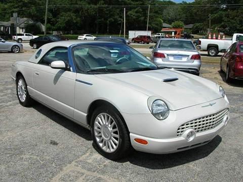 2005 Ford Thunderbird for sale at South Atlanta Motorsports in Mcdonough GA