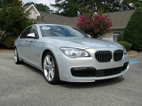 2015 BMW 7 Series for sale at South Atlanta Motorsports in Mcdonough GA