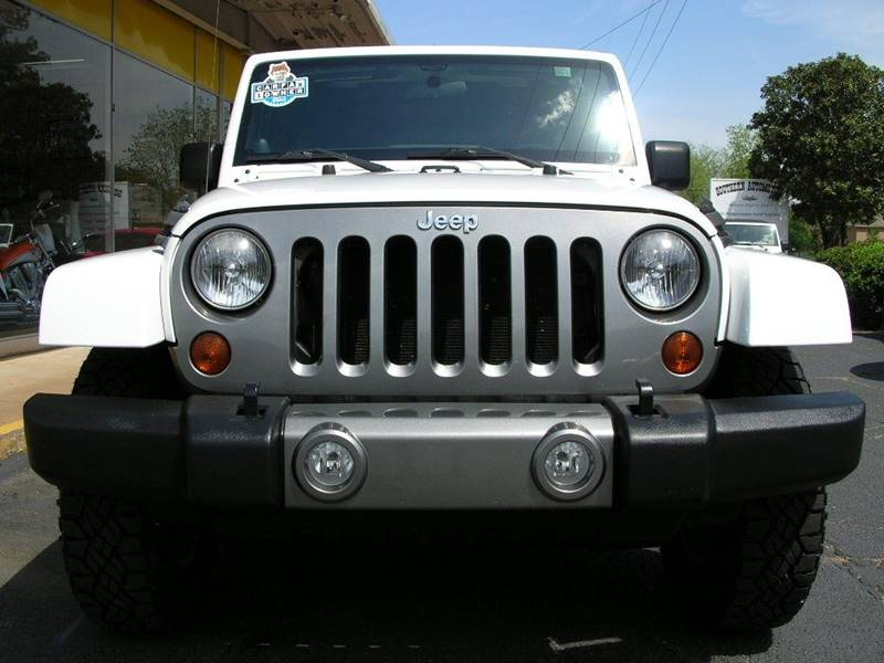2012 Jeep Wrangler Unlimited 4x4 Sport 4dr SUV - Mcdonough GA