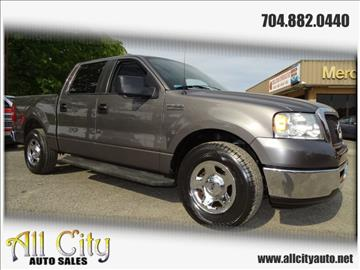 2008 Ford F-150 for sale at All City Auto Sales in Indian Trail NC