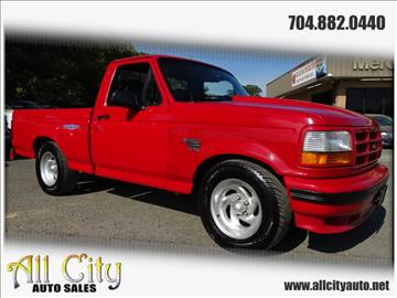 1993 Ford F-150 SVT Lightning for sale at All City Auto Sales in Indian Trail NC