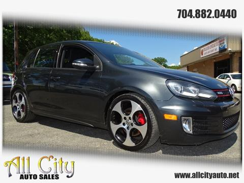 2010 Volkswagen GTI for sale at All City Auto Sales in Indian Trail NC