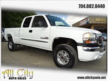 2004 GMC Sierra 2500HD for sale at All City Auto Sales in Indian Trail NC