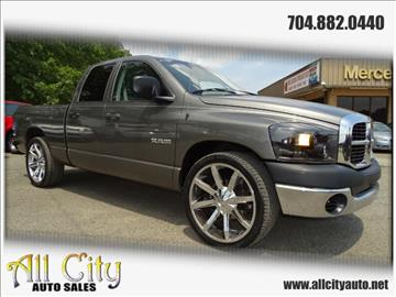 2008 Dodge Ram Pickup 1500 for sale at All City Auto Sales in Indian Trail NC