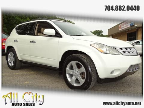 2004 Nissan Murano for sale at All City Auto Sales in Indian Trail NC