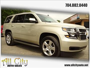 2015 Chevrolet Tahoe for sale at All City Auto Sales in Indian Trail NC