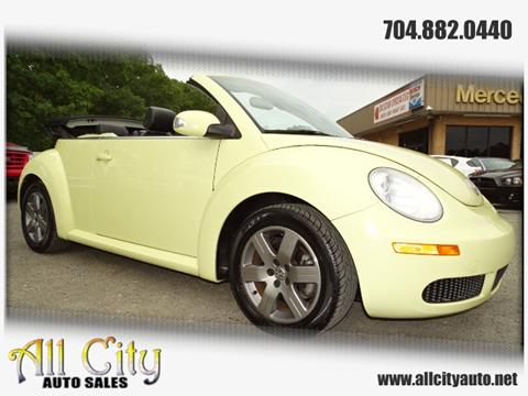 2006 Volkswagen New Beetle for sale at All City Auto Sales in Indian Trail NC
