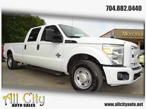 2012 Ford F-350 Super Duty for sale at All City Auto Sales in Indian Trail NC